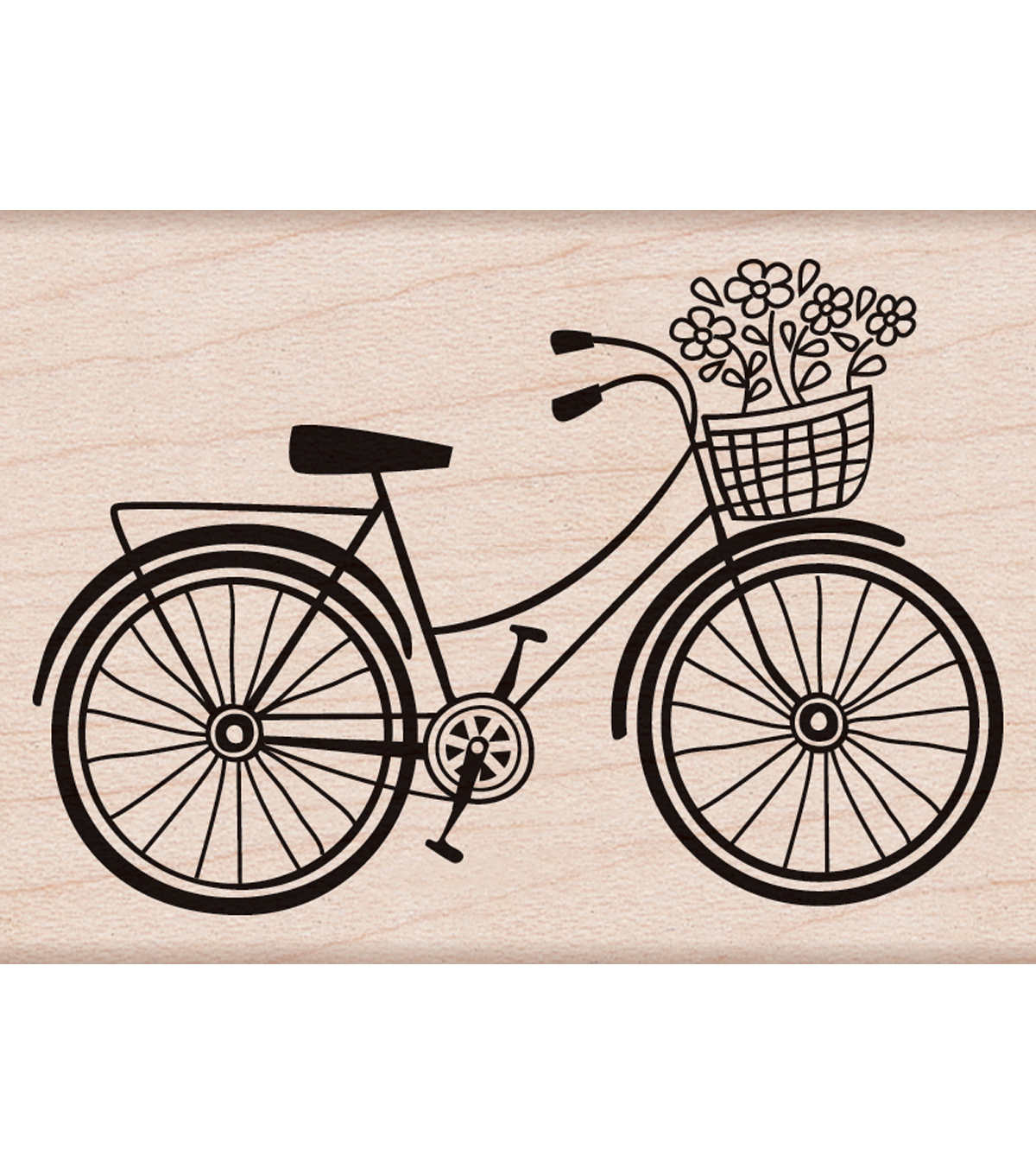 Hero Arts Rubber Stamp-Bicycle