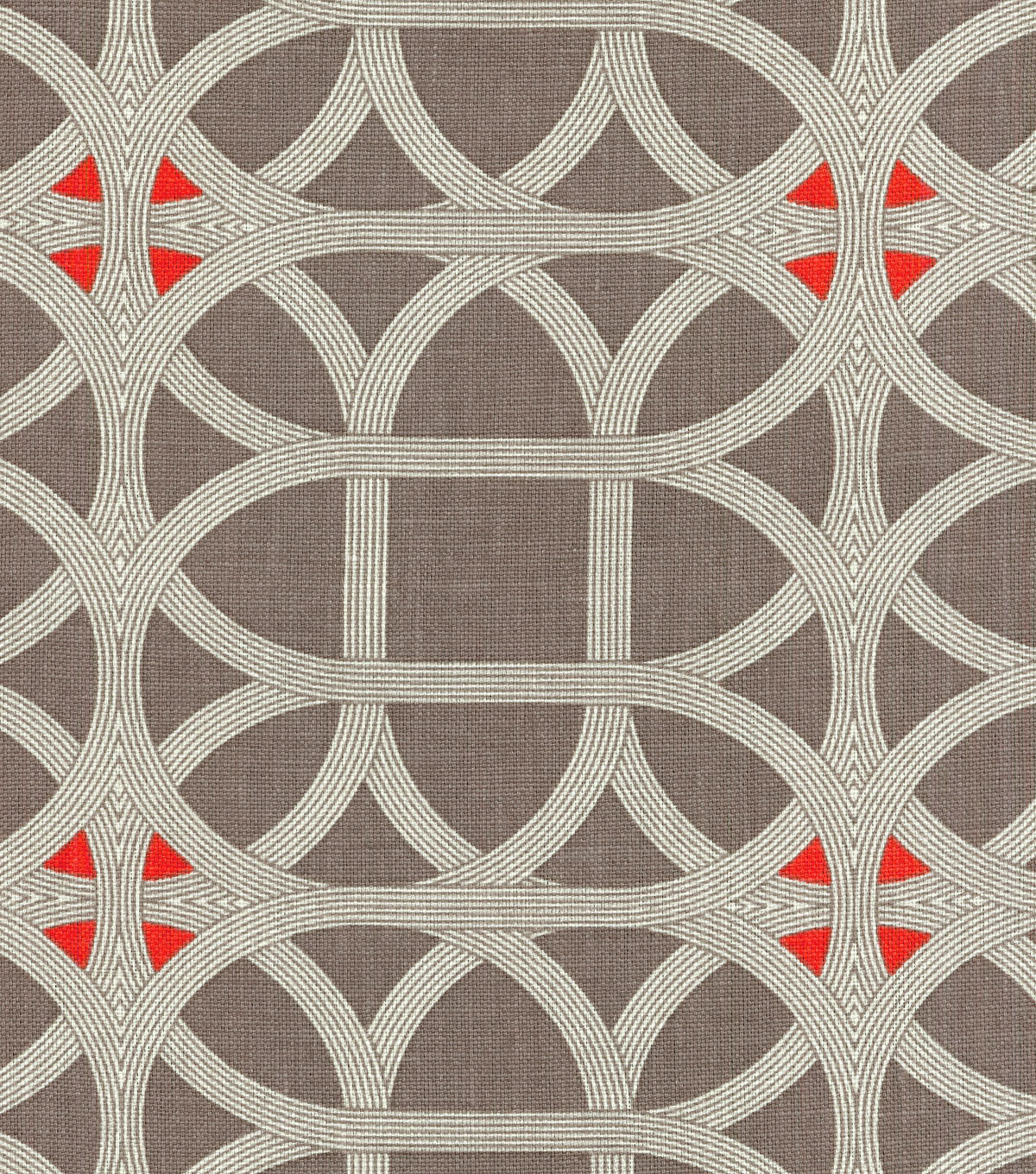 P/K Lifestyles Print Fabric 54\u0022-Lamerie Lattice/Persimmon