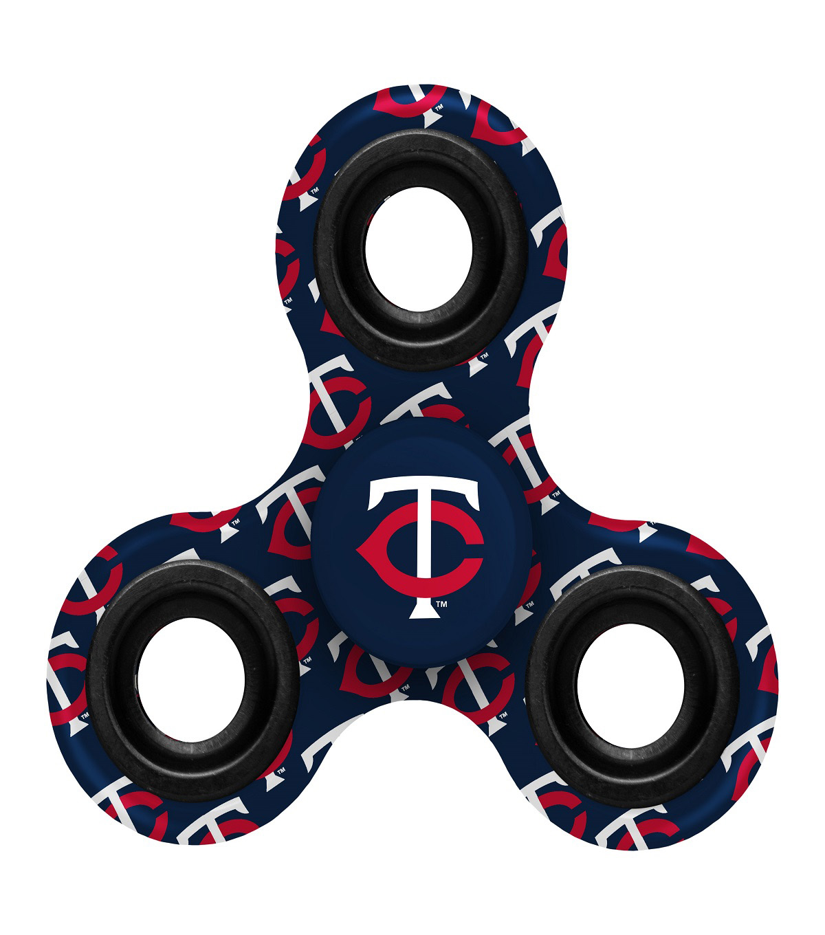Minnesota Twins Diztracto Spinnerz-Three Way Fidget Spinner