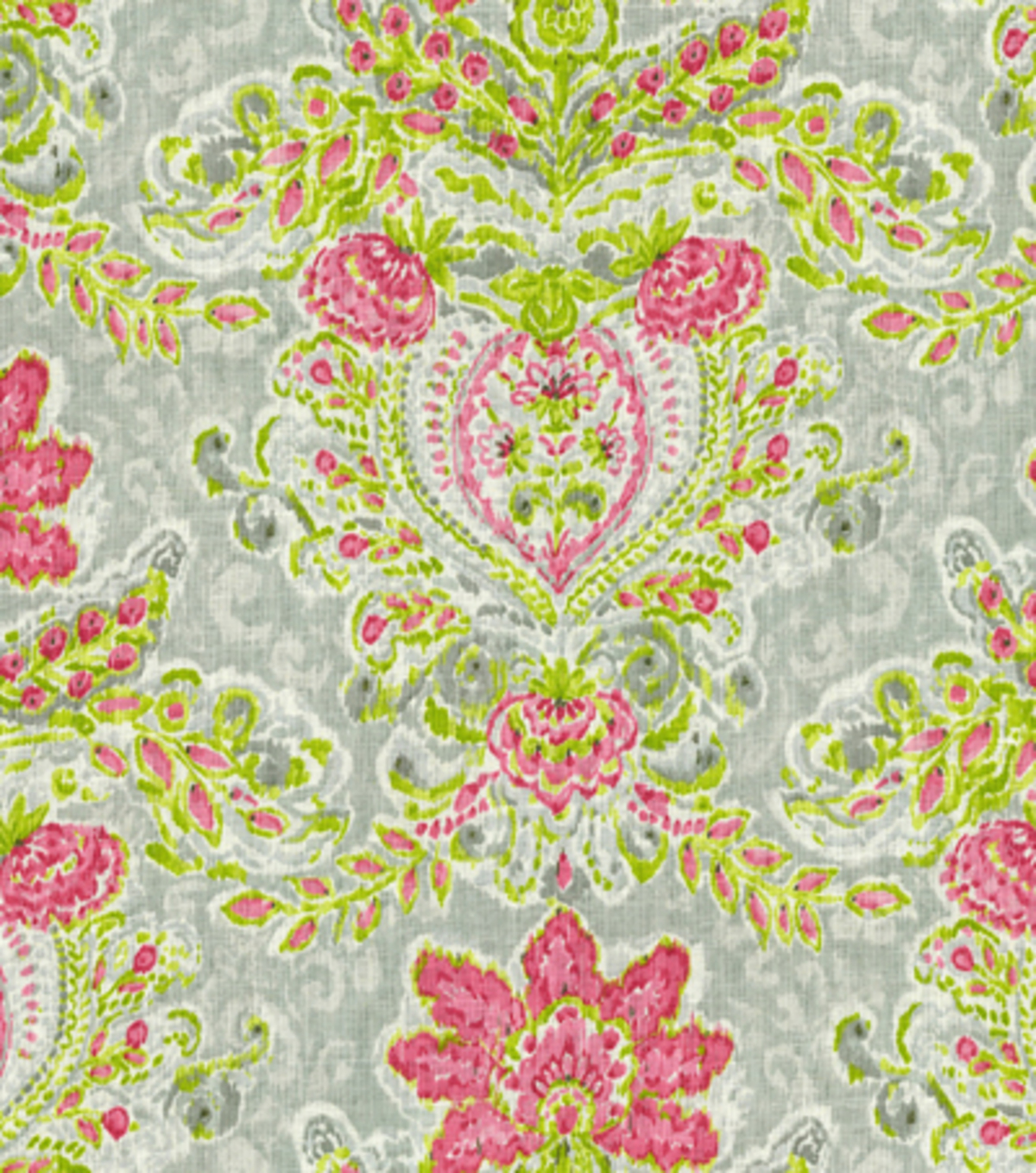 Waverly Upholstery Fabric 54\u0022-Crystal Vision/Petal