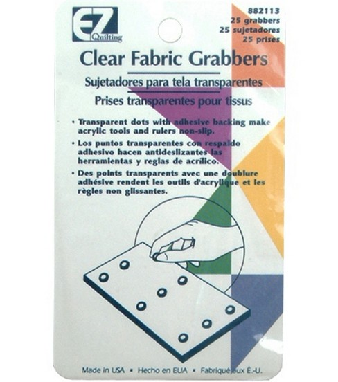 Wrights®/EZ Clear Fabric Grabbers-25/Pkg