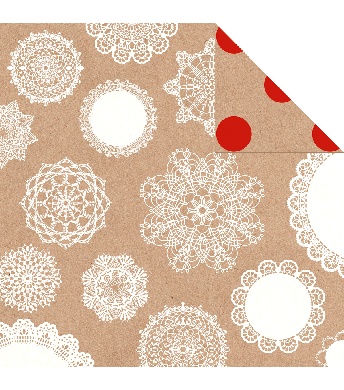 Kaisercraft Mix & Match Doilies Double-Sided Cardstock