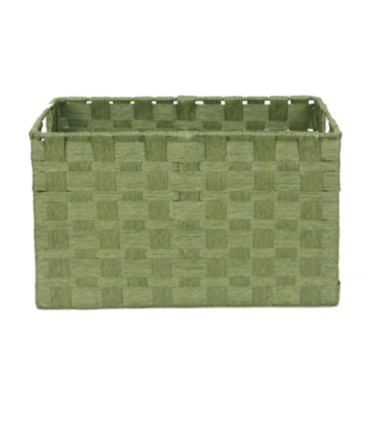 Organizing Essentials™ Paper Rope Cube Basket-Green