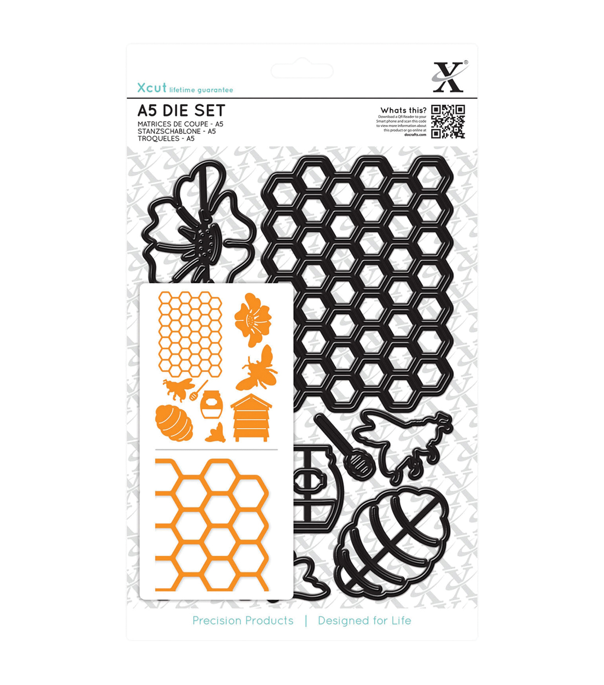 Xcut Bee Keeping A5 Die Set