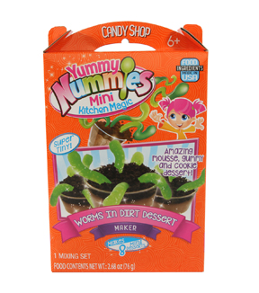Yummy Nummies Candy Shop-Worms in Dirt