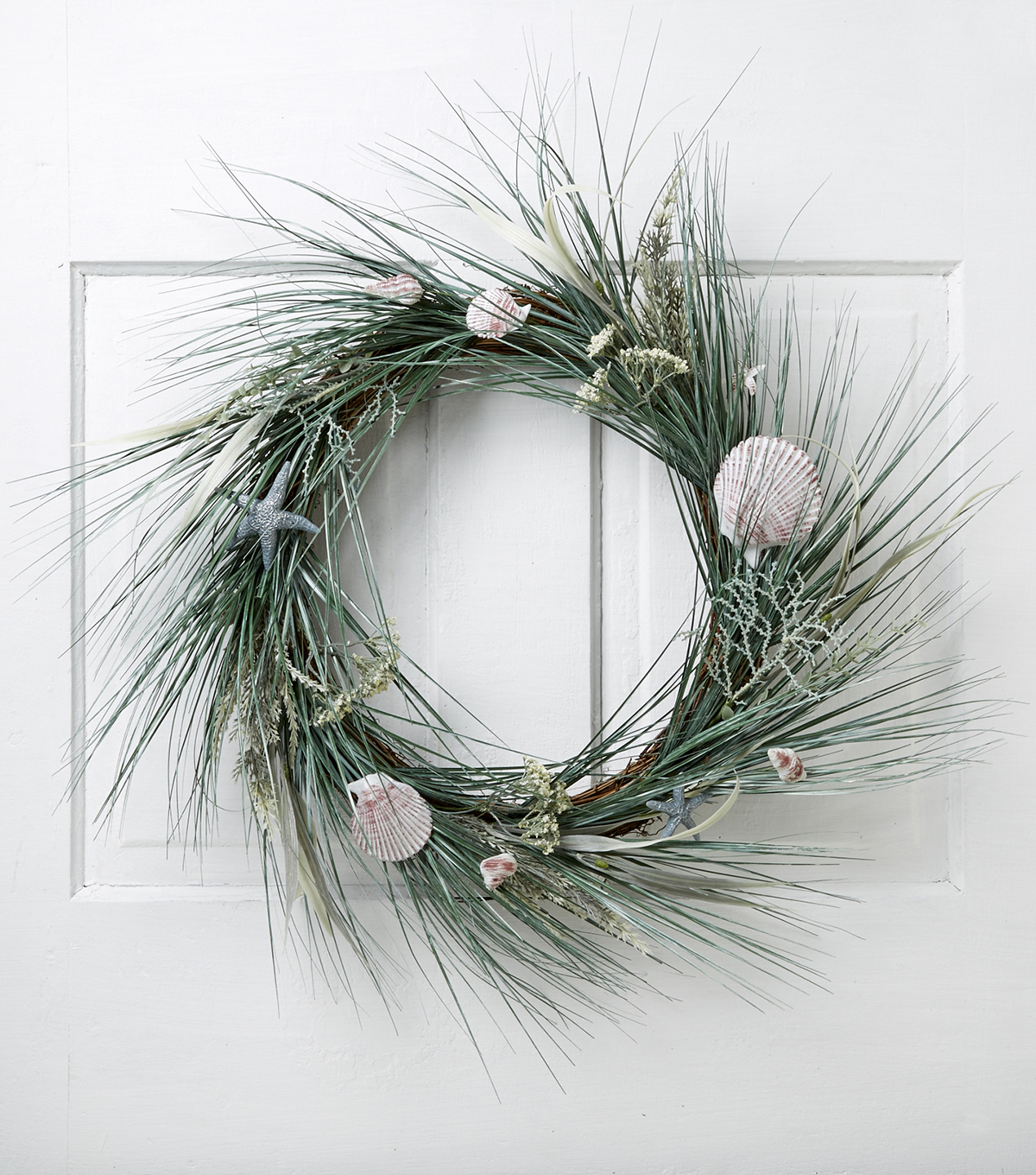 Blooming Spring 26\u0027\u0027 Coastal Twig Wreath