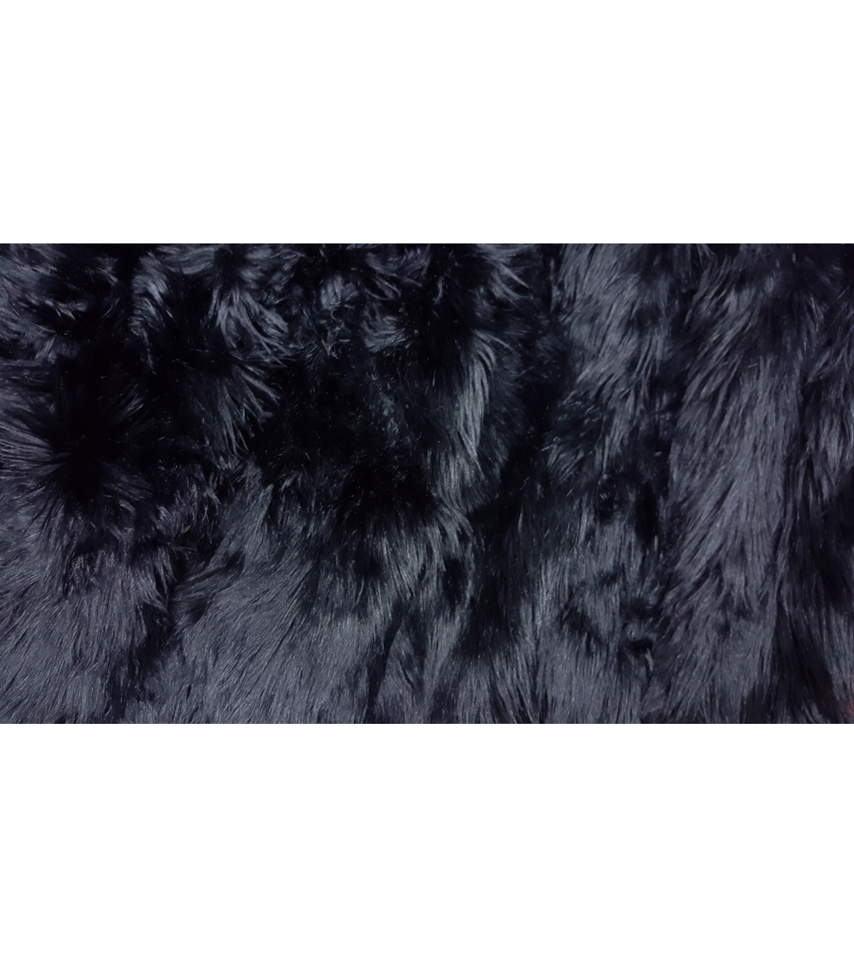 Fashion Faux Husky Fur Fabric 57\u0022-Black
