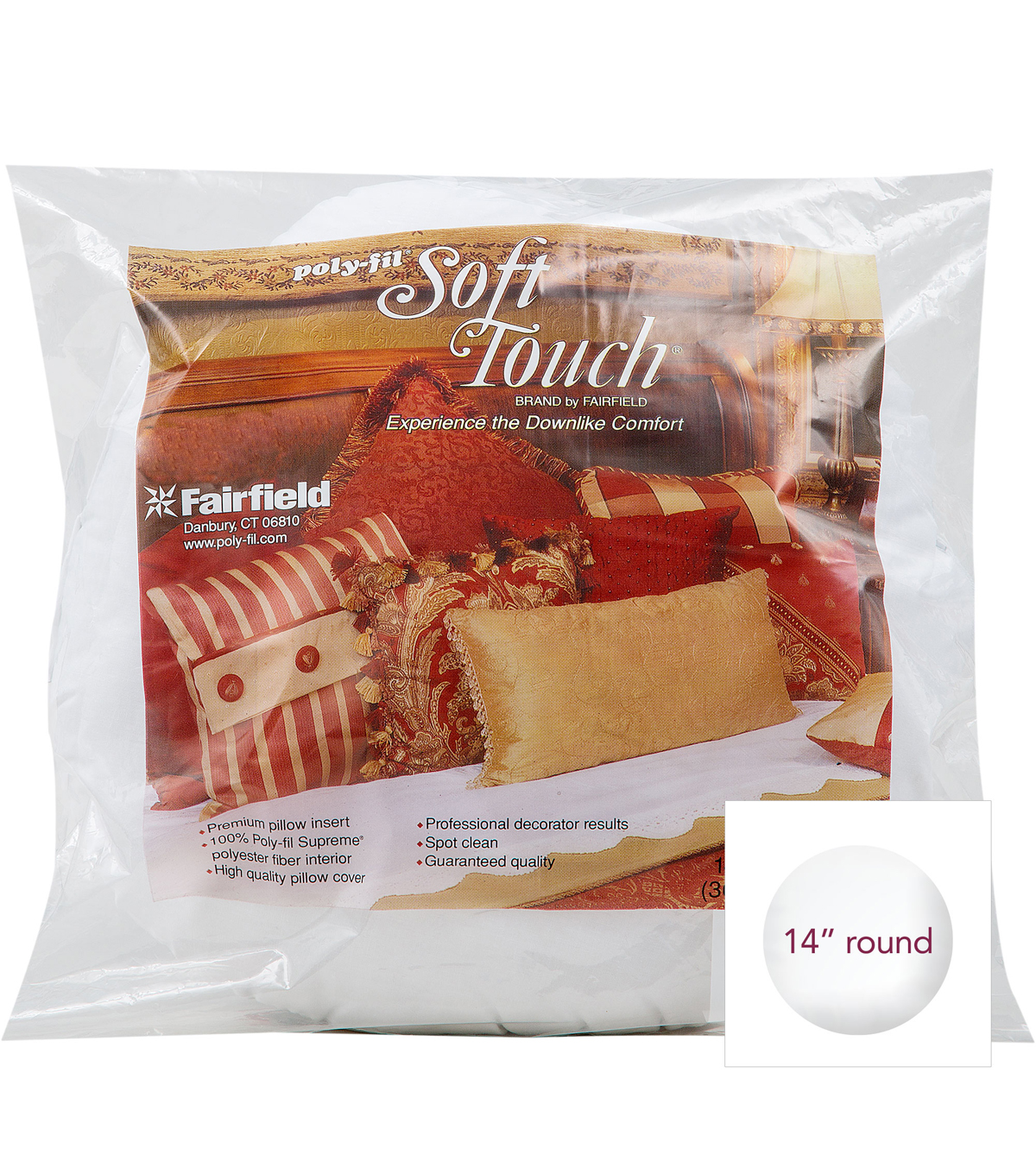 Fairfield Soft Touch 14 In Round Pillow