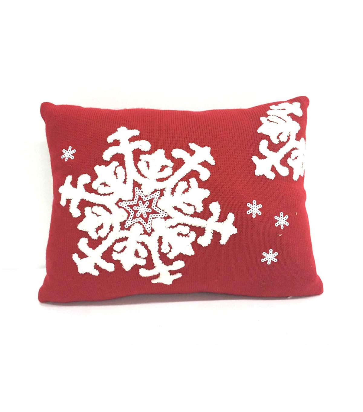Maker\u0027s Holiday Pillow-Snowflake