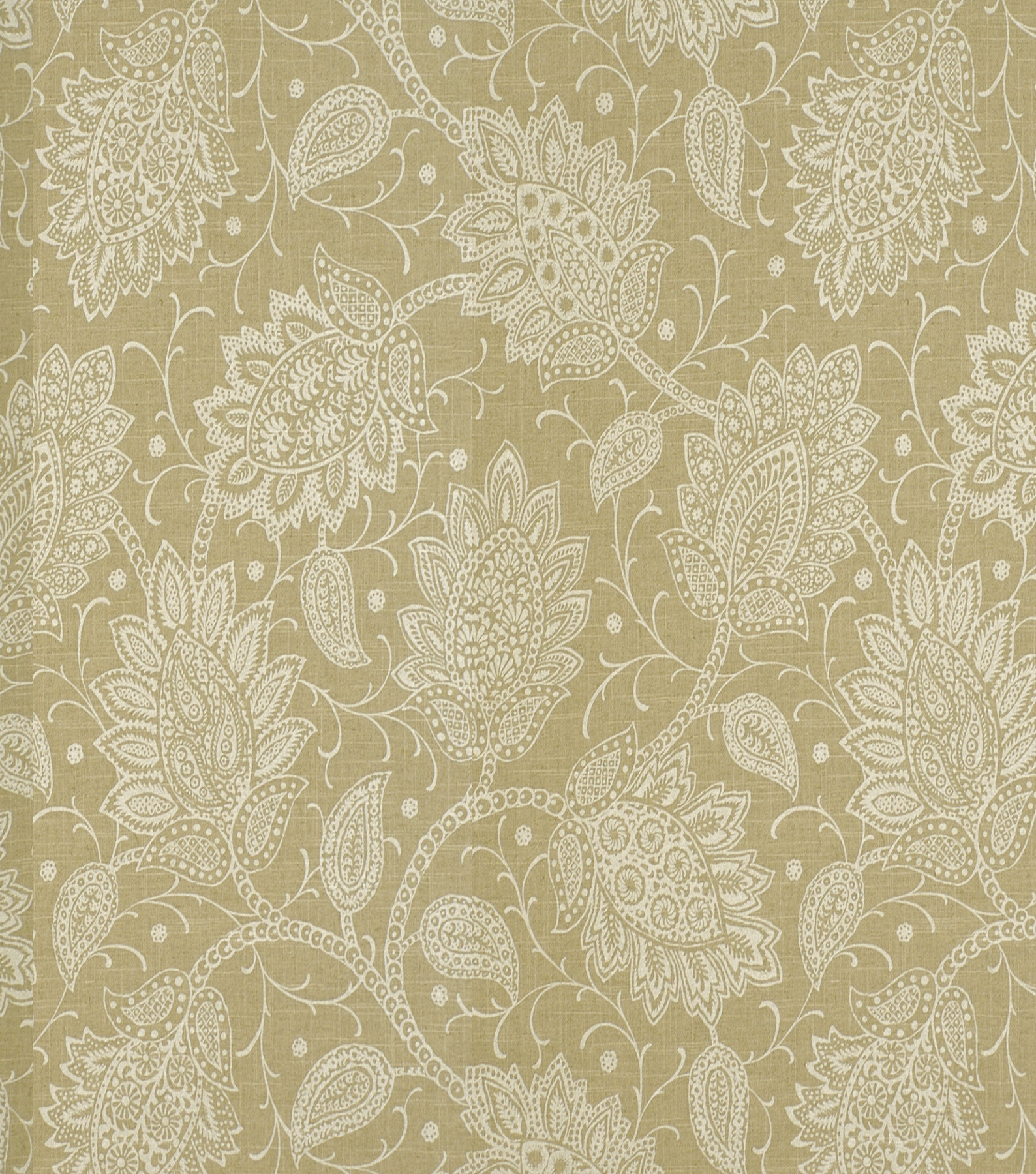 Home Decor 8\u0022x8\u0022 Fabric Swatch-Print Fabric Robert Allen Sheshimmers Latte