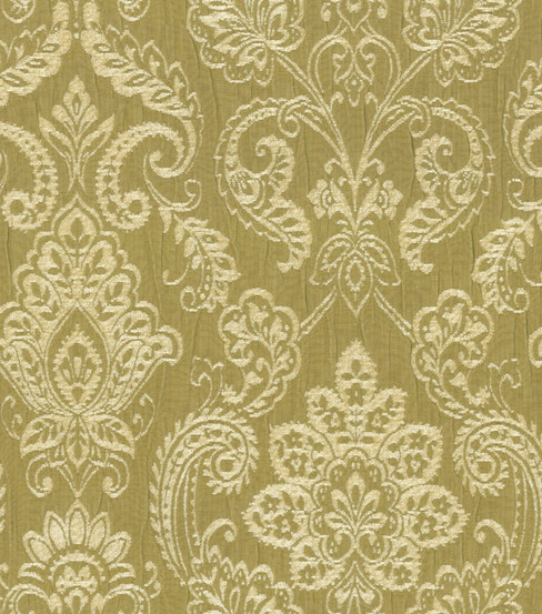 Waverly Upholstery Fabric-Gazebo Damask/Herb Garden