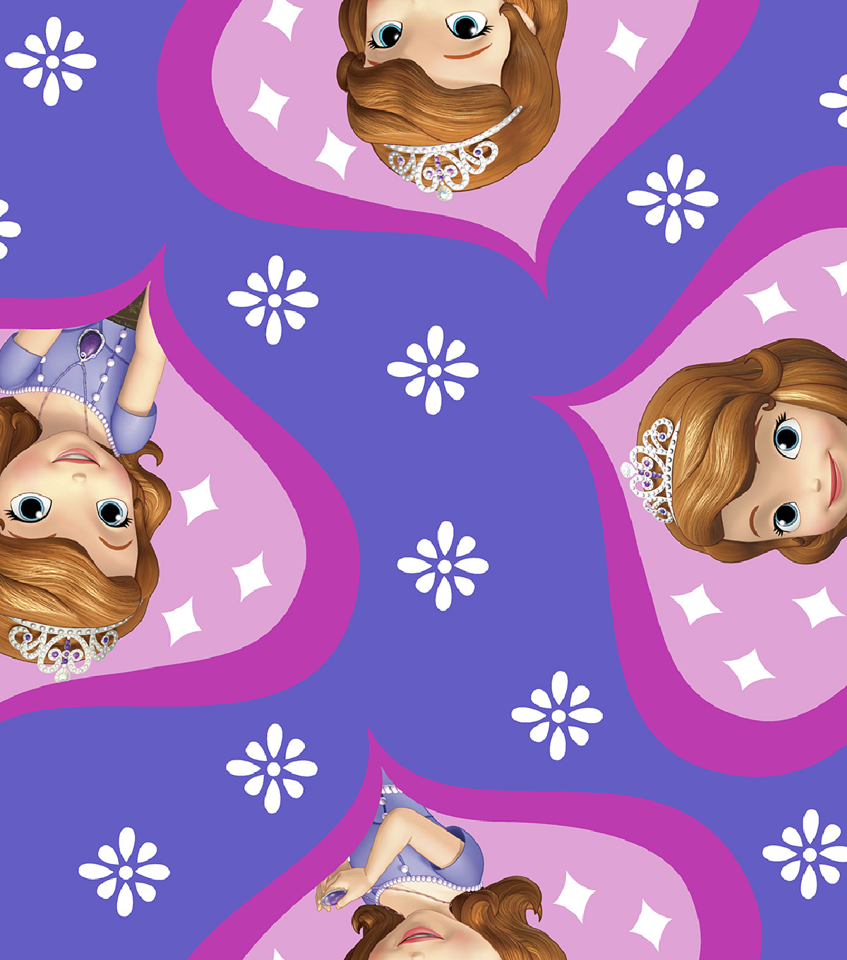 Disney® Sofia The First Cotton Fabric 43''-Ogee