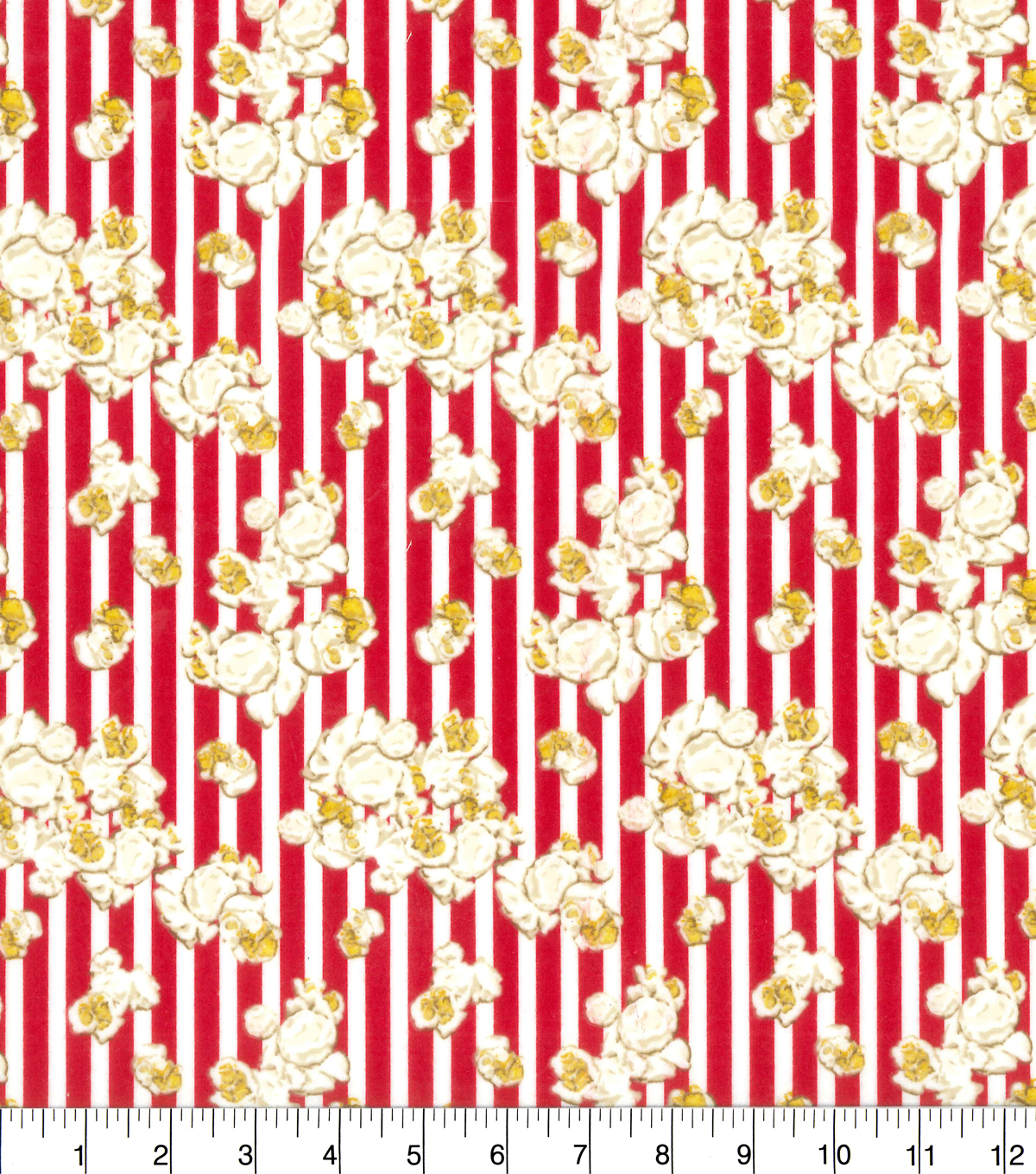 "Snuggle Flannel Fabric 42""-Movie Popcorn"