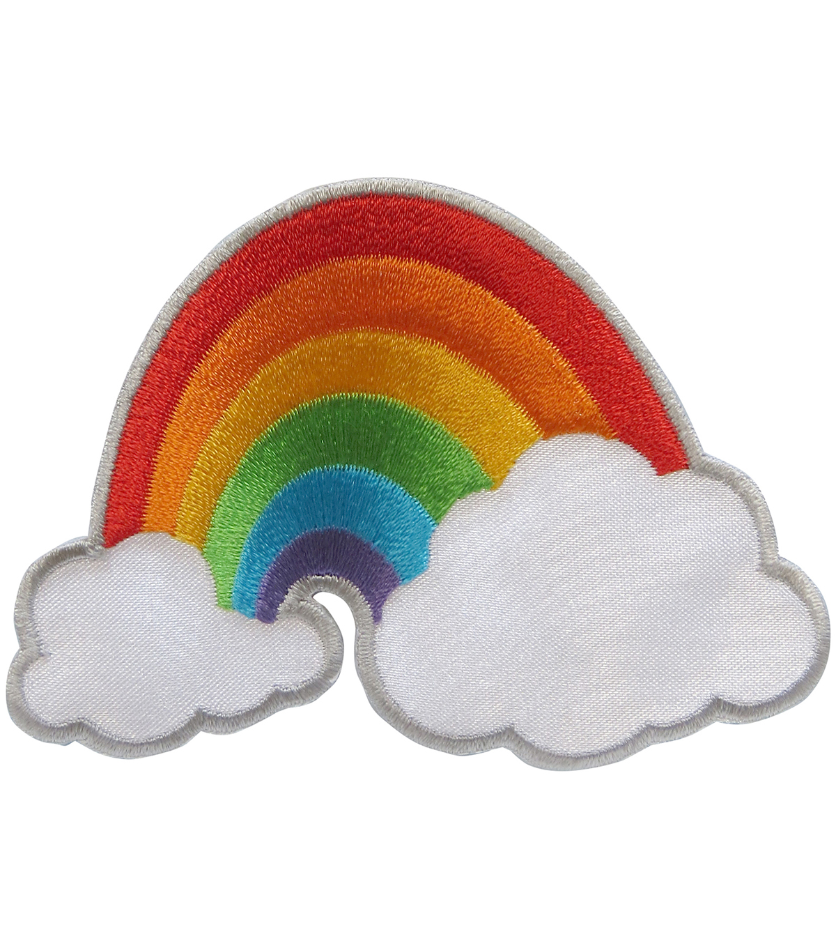 Simplicity® Embroidered Iron-On Applique-Rainbow