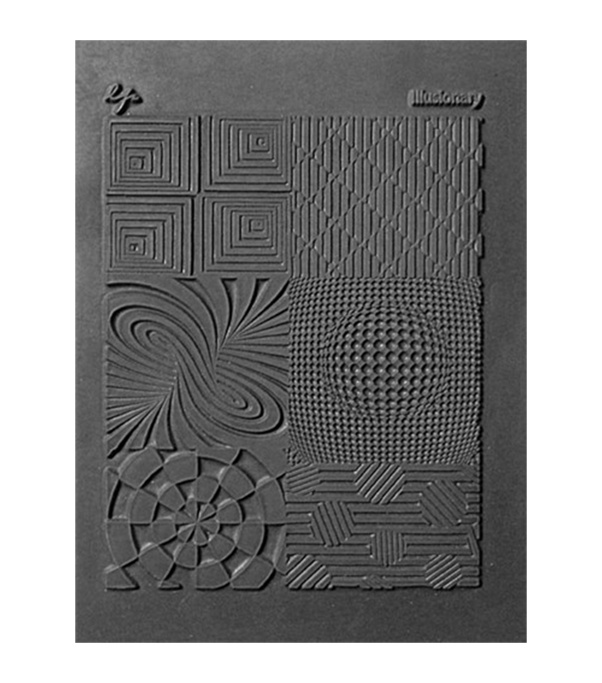 Great Create Pavelka Texture Stamp - Illusionary