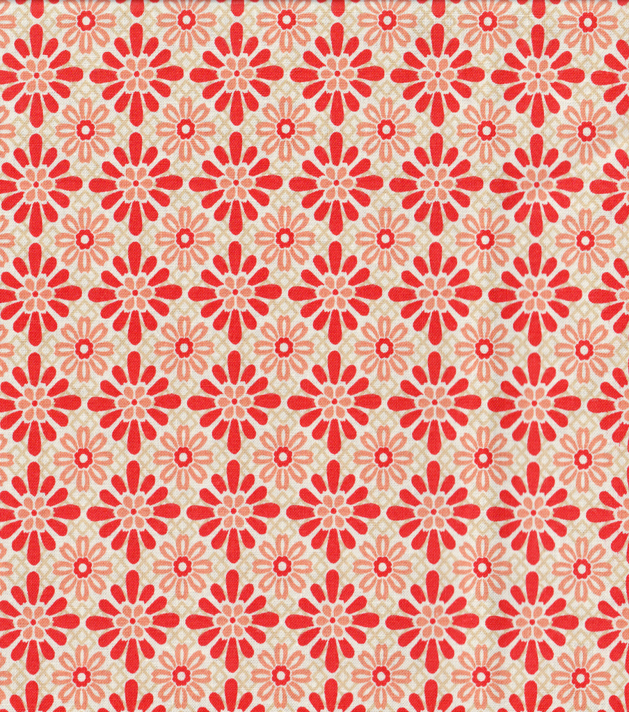 Keepsake Calico™ Cotton Fabric 44\u0022-Koshi Coral