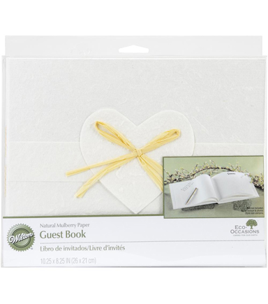 Wilton® Natural Paper Guest Book