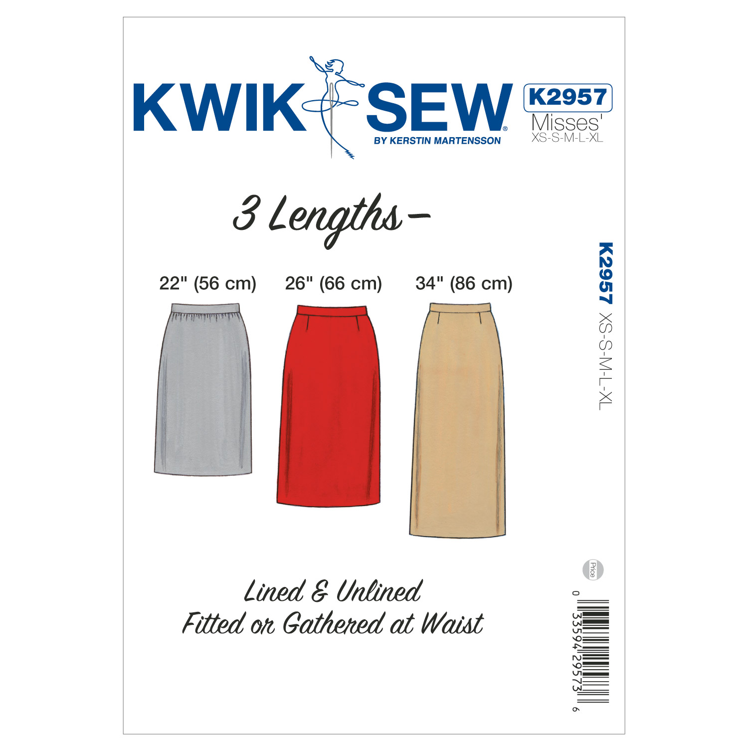 Kwik Sew Misses Skirt-K2957