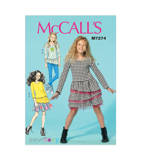 McCall's Girls Casual-M7274