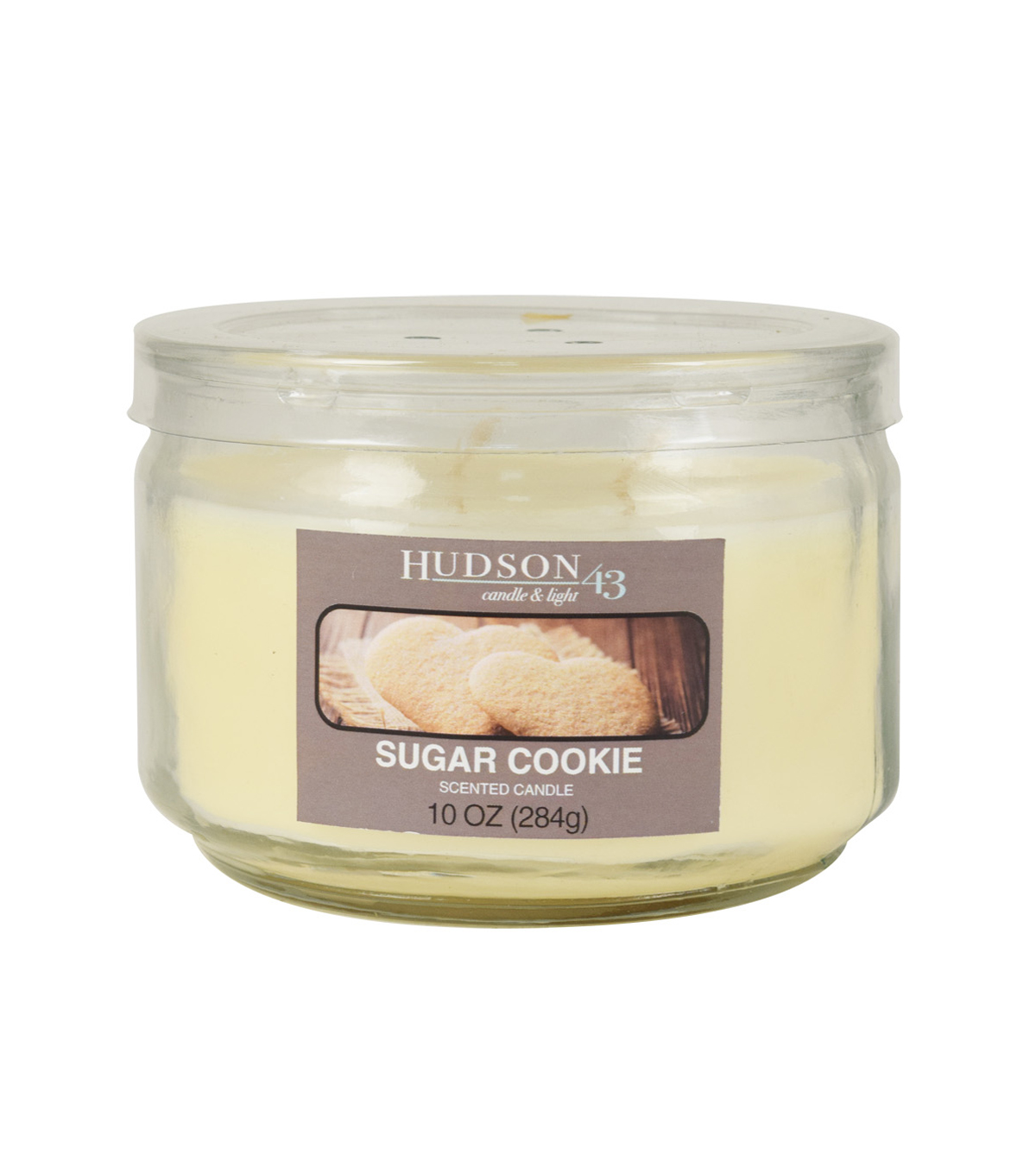 Hudson 43™ Candle & Light Collection 10oz Value Jar Sugar Cookie
