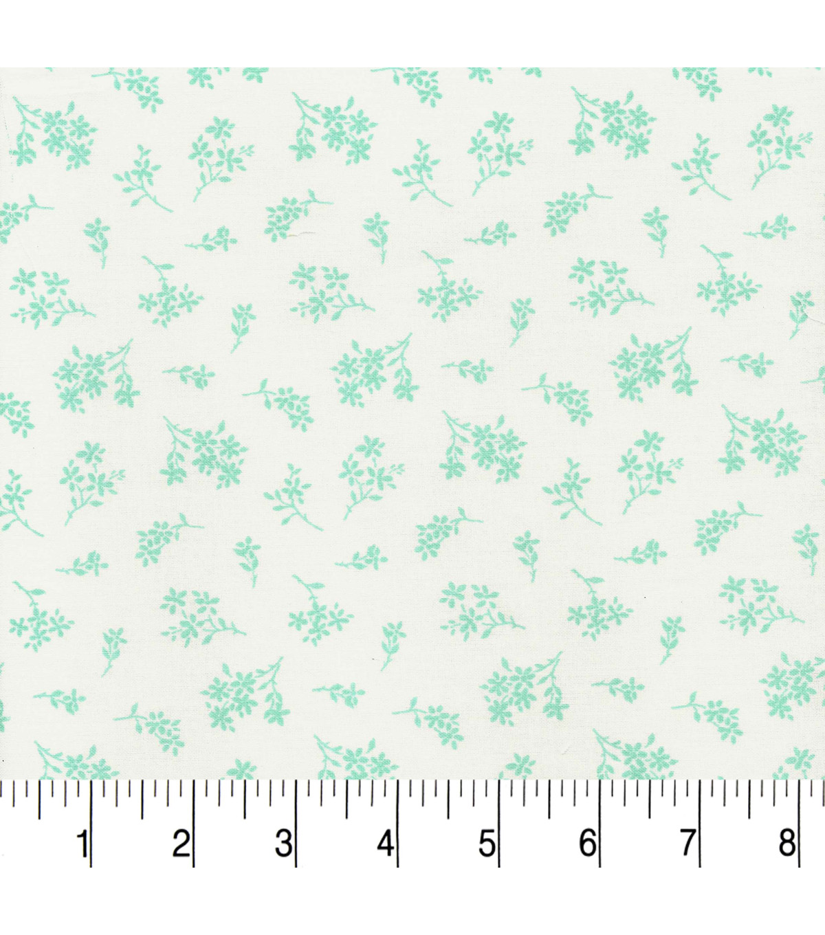 Quilter\u0027s Showcase™ Cotton Fabric 44\u0022-Yucca Tossed Ditsy Floral