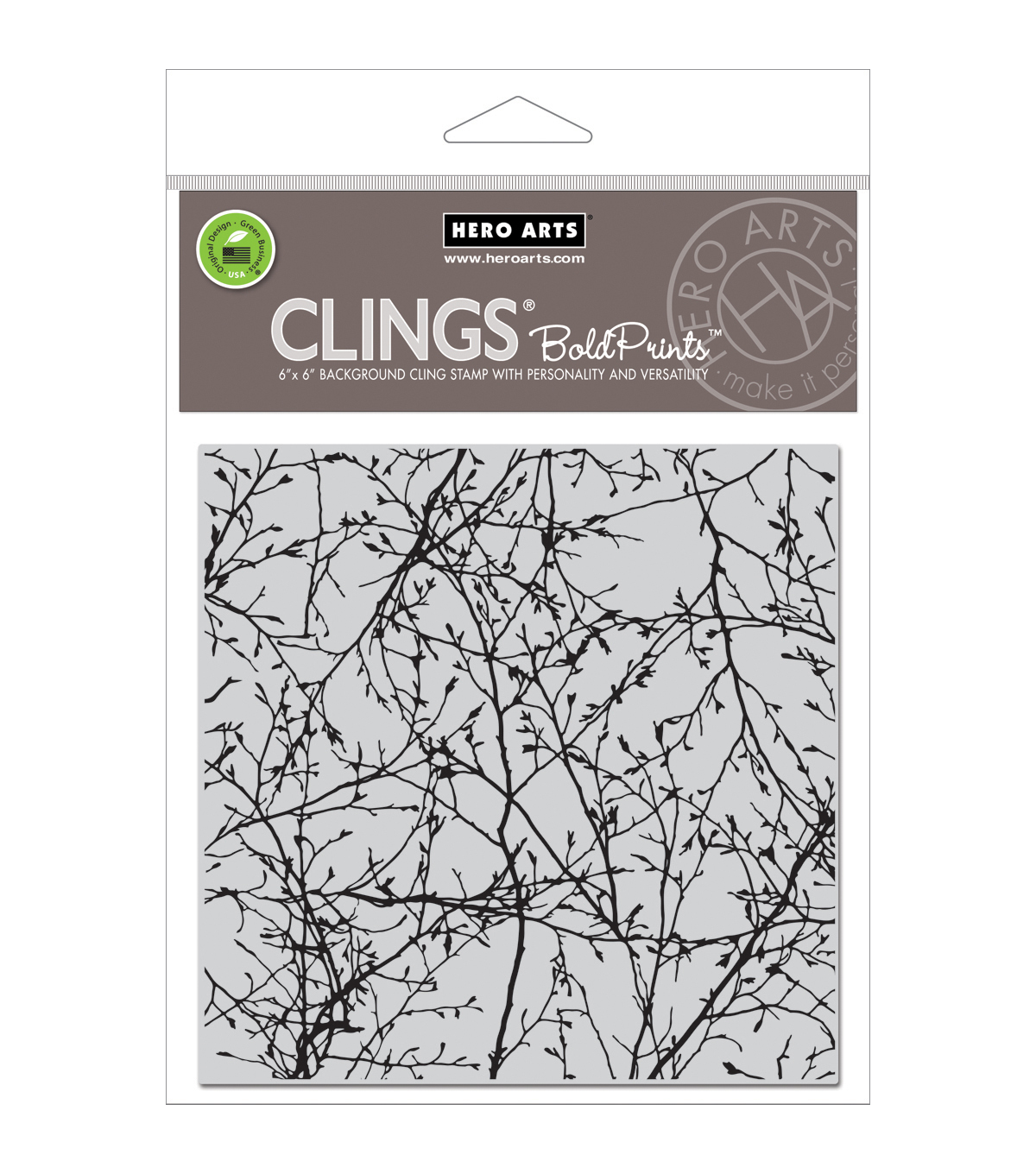 Branches -hero Arts Cling Stmp
