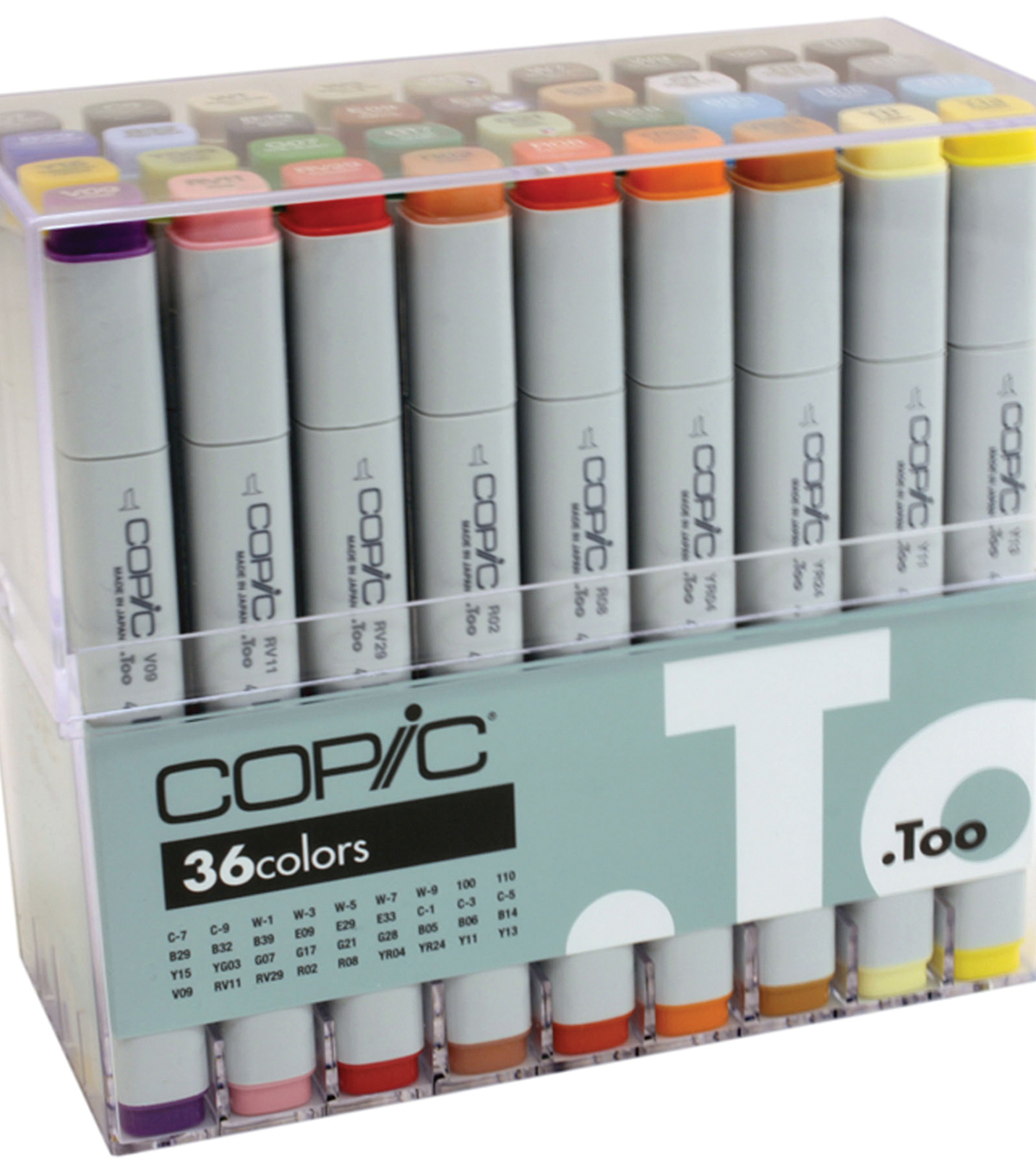 Copic Original Markers Set-Basic