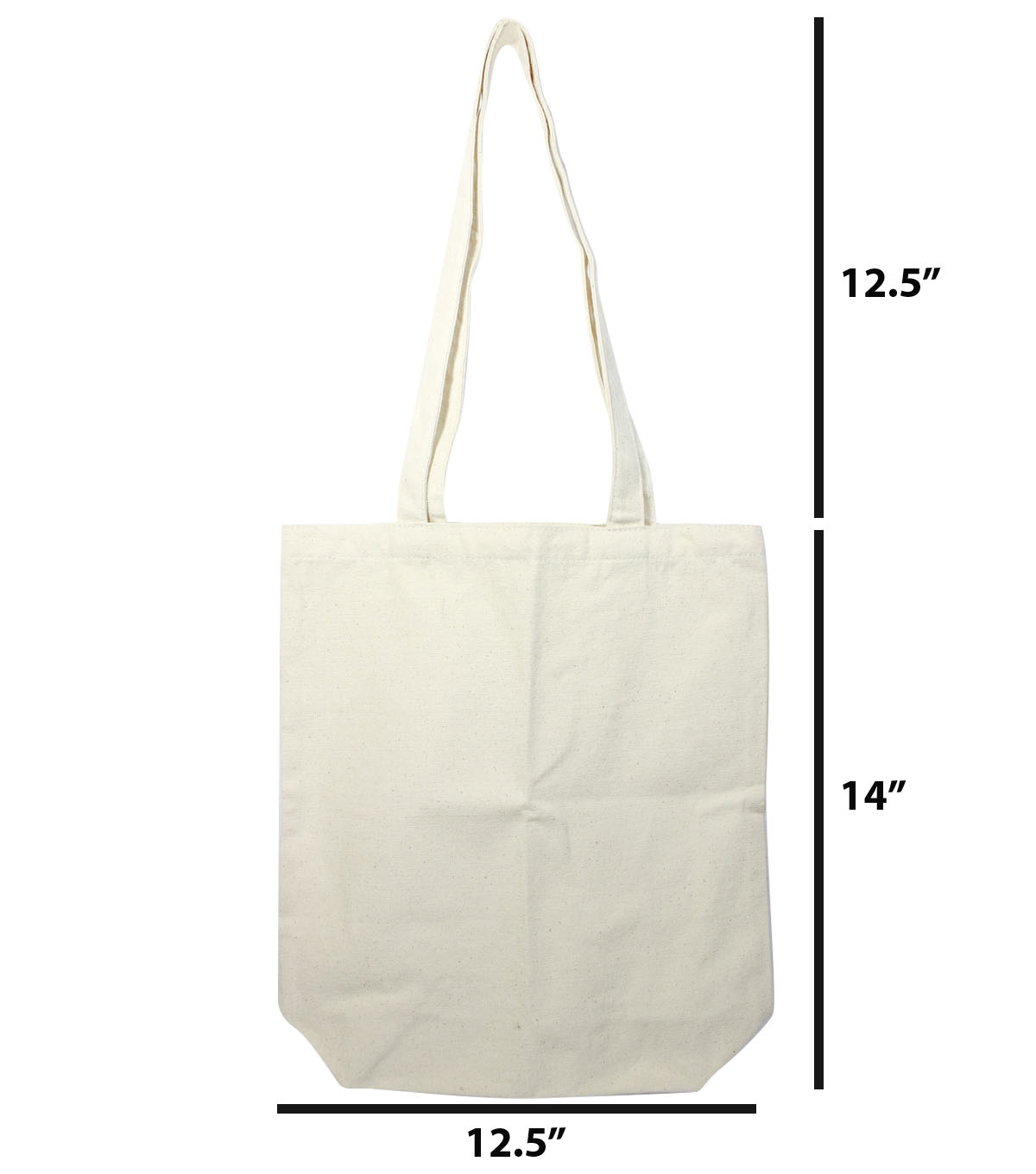 Totes Adorbs Large Canvas Tote