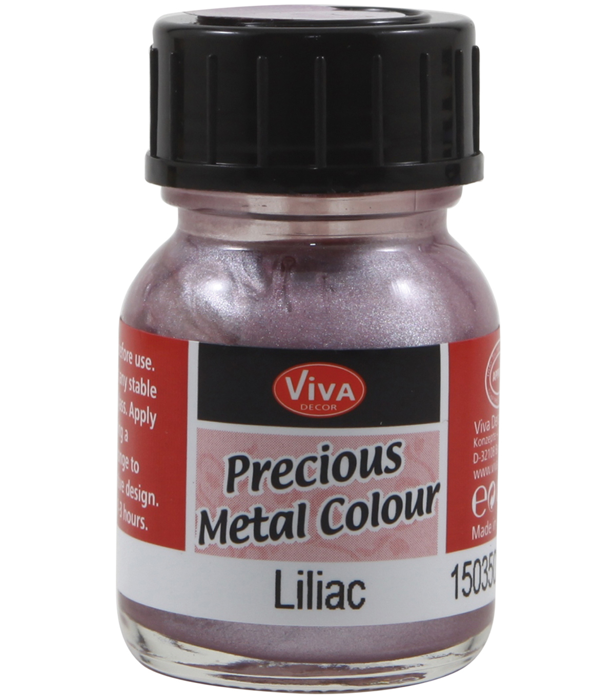 Viva Decor Precious Metal Color 25ml/Pkg-Ice Blue
