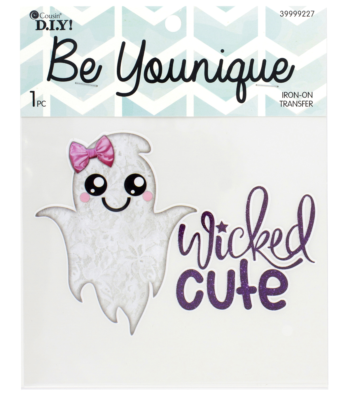 Cousin® DIY Be Younique Iron-On Transfer-Wicked Cute