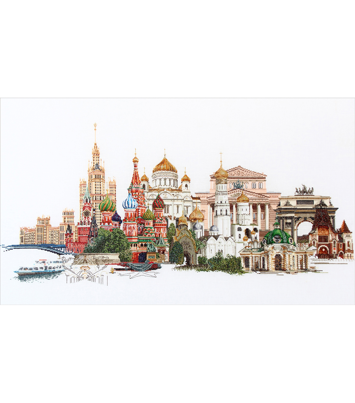 Thea Gouverneur Moscow On Aida Counted Cross Stitch Kit