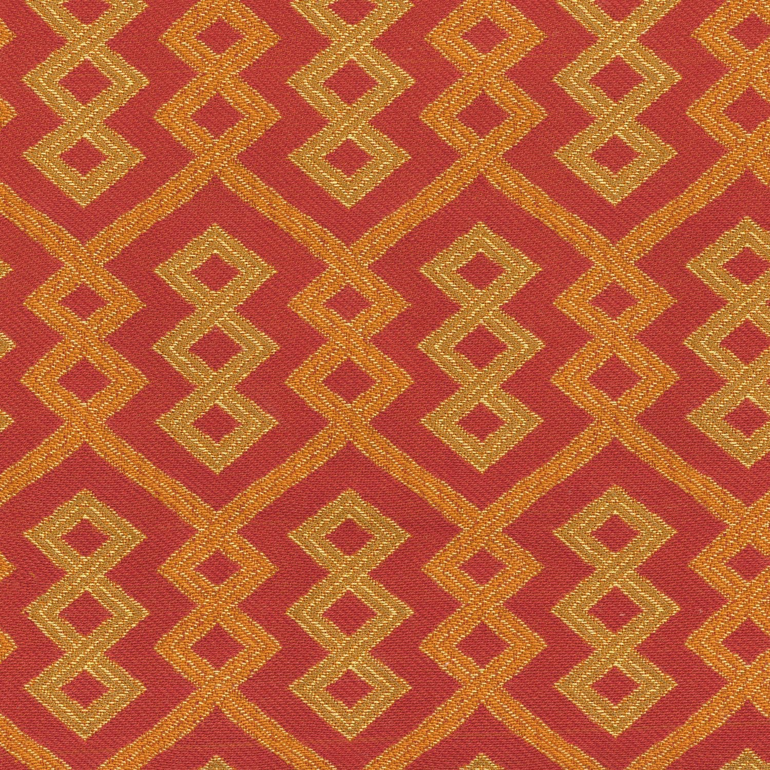 "Home Decor 8""x8"" Fabric Swatch-IMAN Home Tribal Twist Spice"