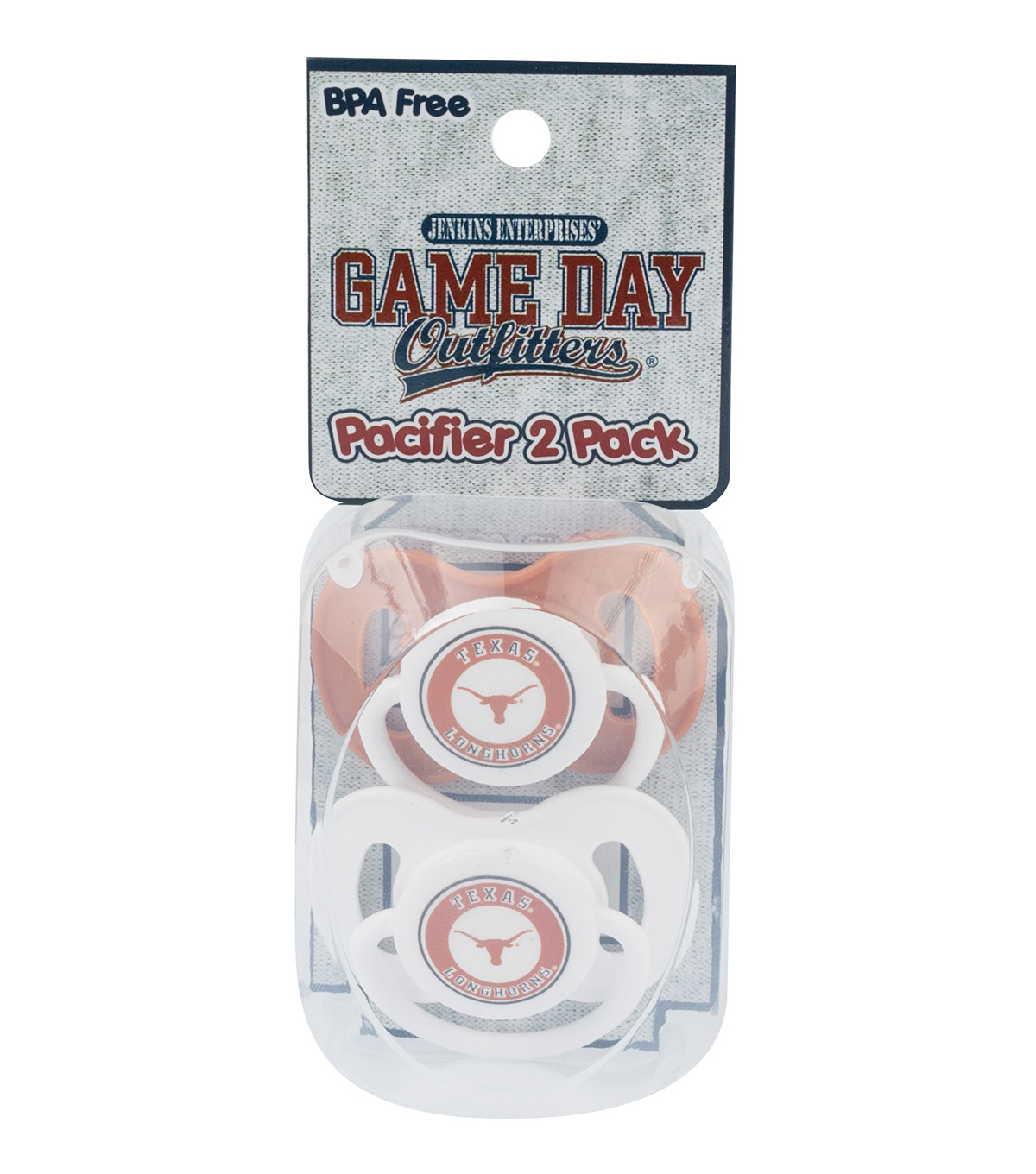 University of Texas Longhorns Pacifiers