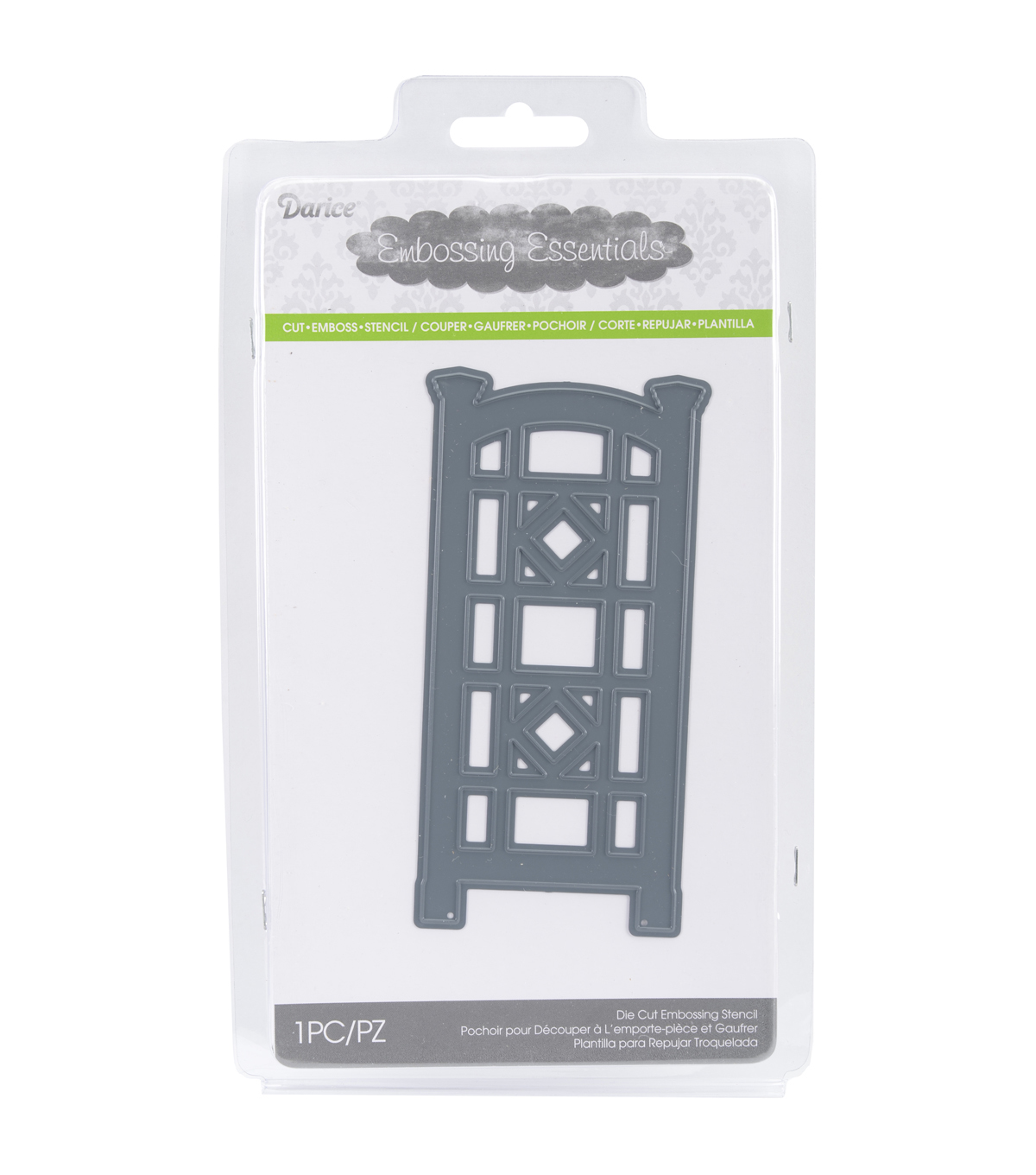 Darice® Embossing Essentials Dies-Trellis