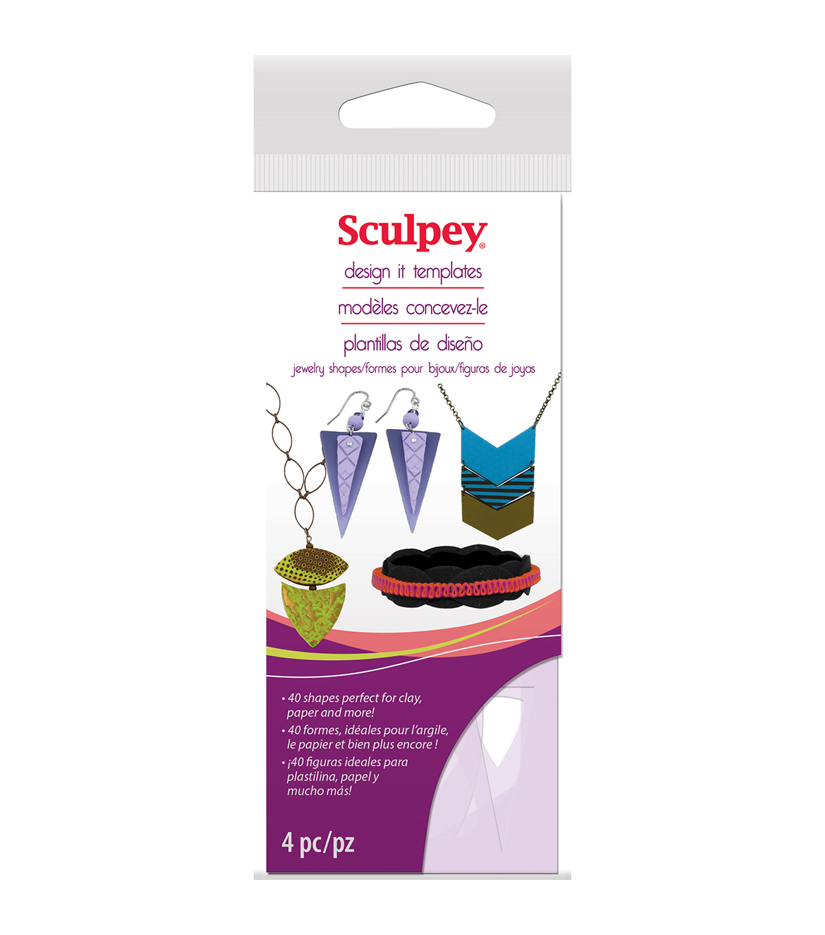 Sculpey® Design It Templates-General Shapes