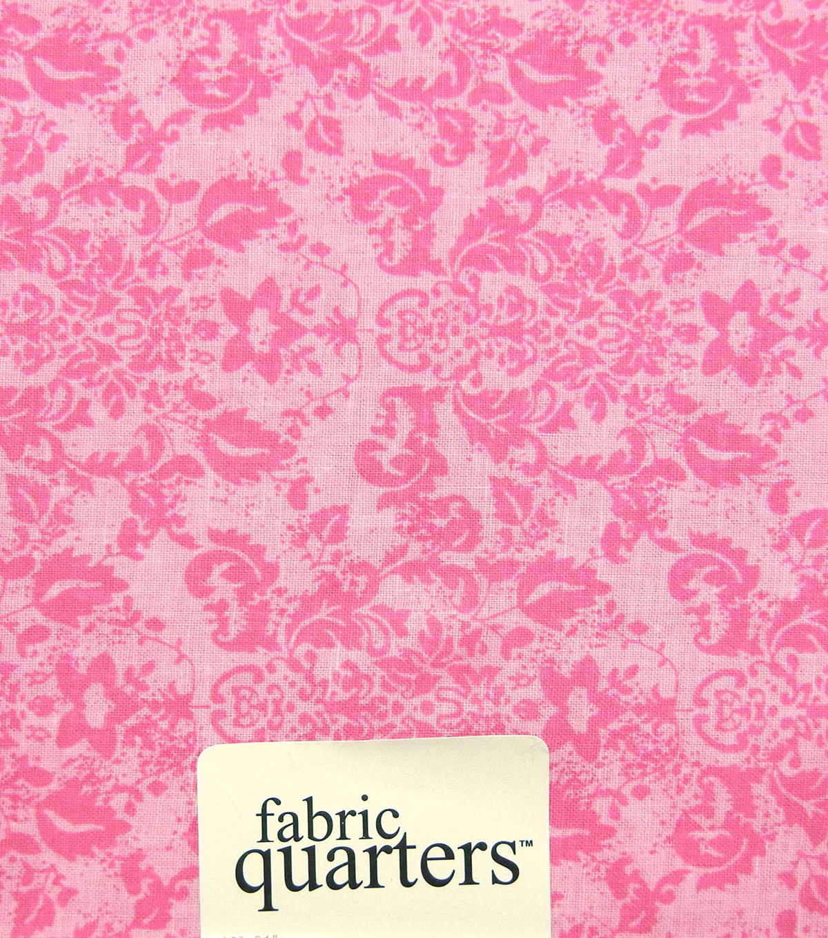 Fabric-Quarters Assorted Fabric-Pink