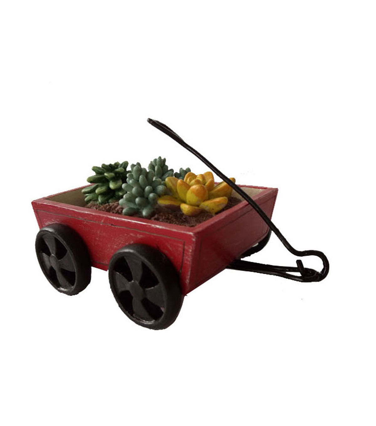 Bloom Room Littles Red Wagon With Plants