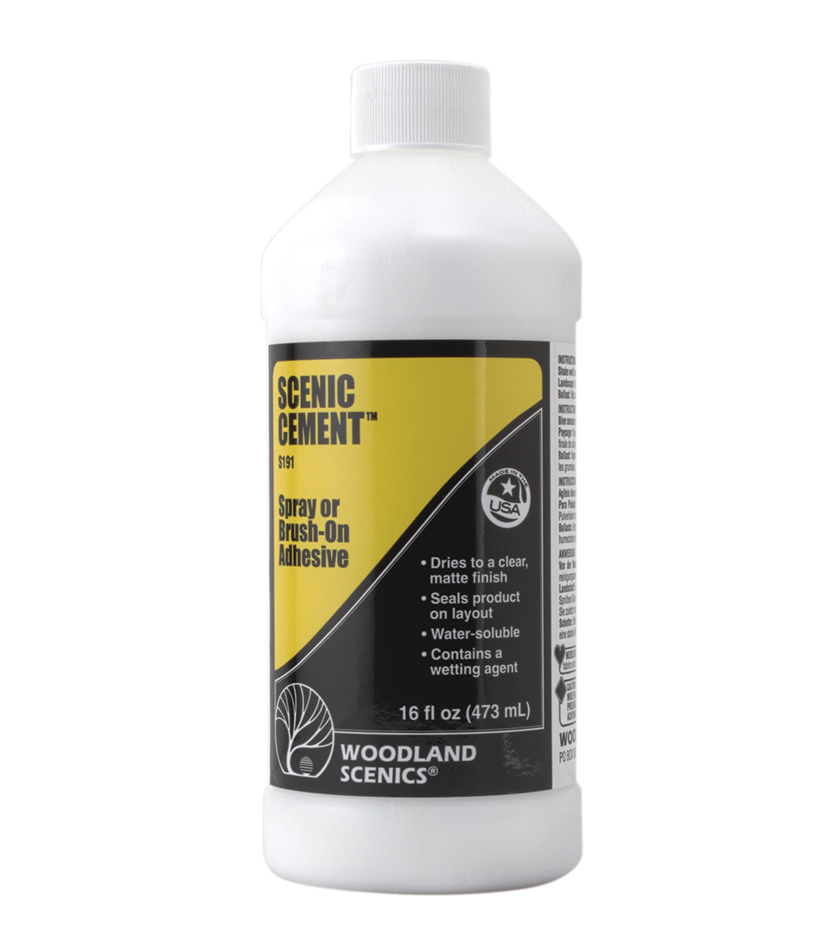 Woodland Scenics 16oz Scenic Cement