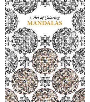 Adult Coloring Book Art Of Mandalas
