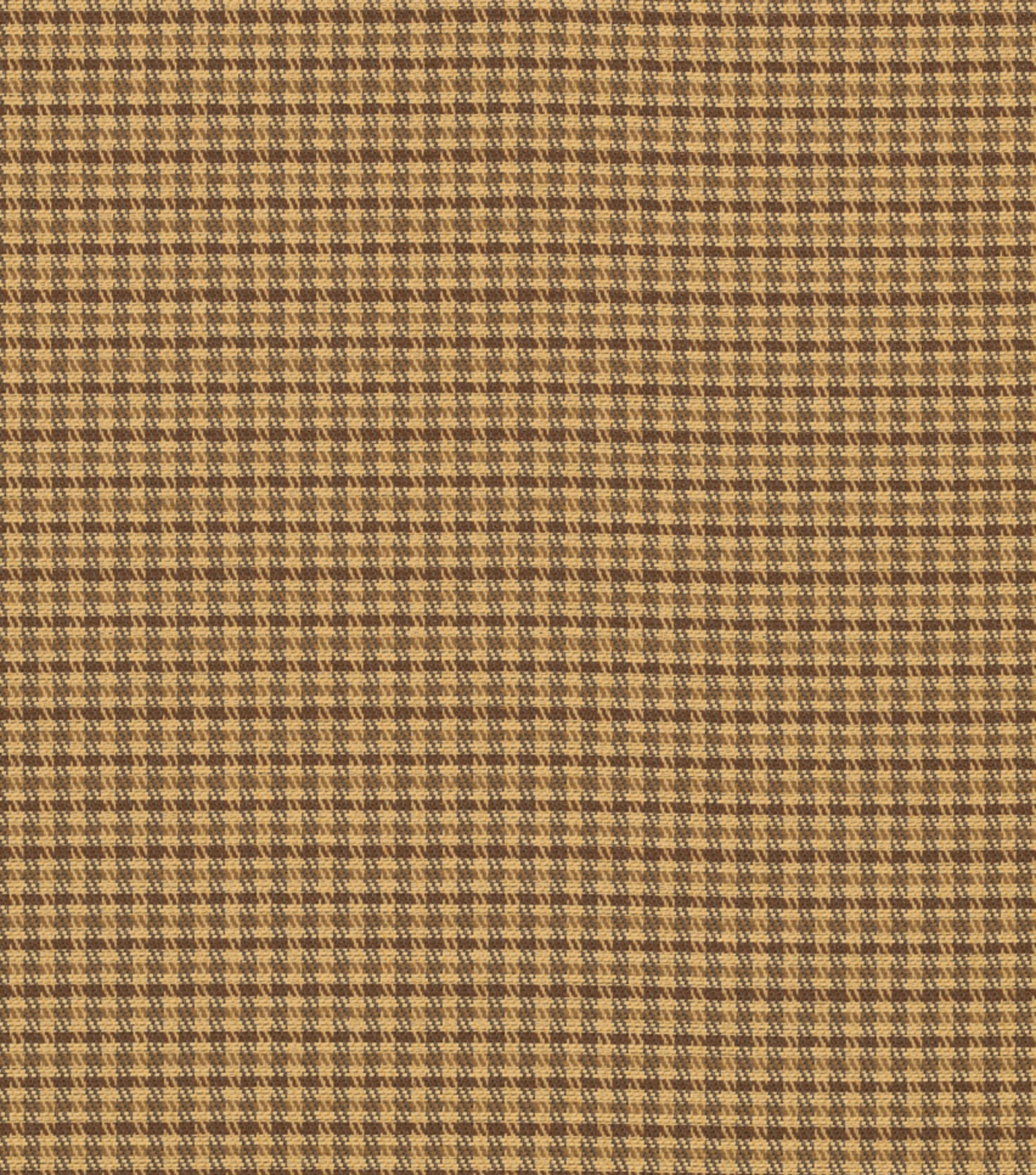 "Home Decor 8""x8"" Fabric Swatch-Wallace Glenn Golden Brown"