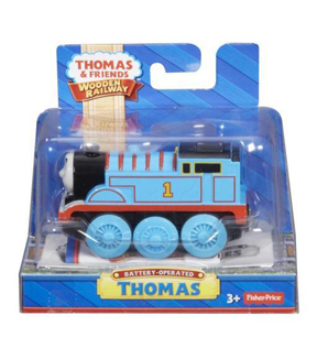 Thomas the Train Wooden Railway Battery Opperated Thomas
