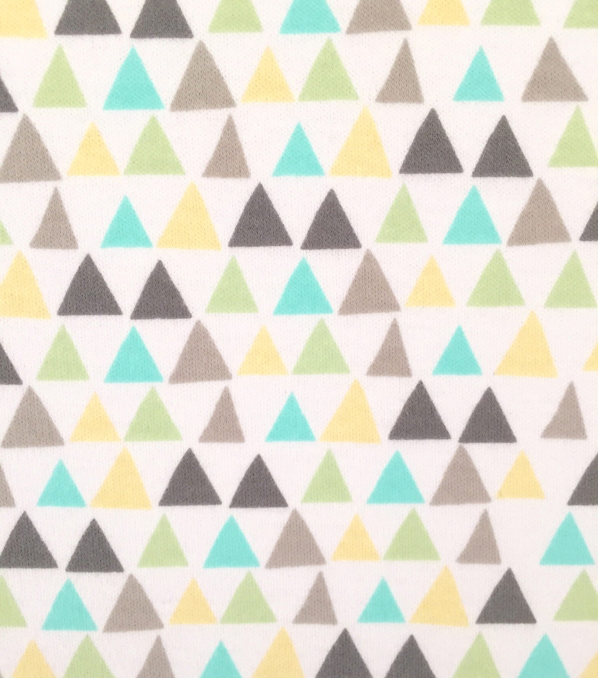 "Doodles Cotton Fabric 57""-Triangles"