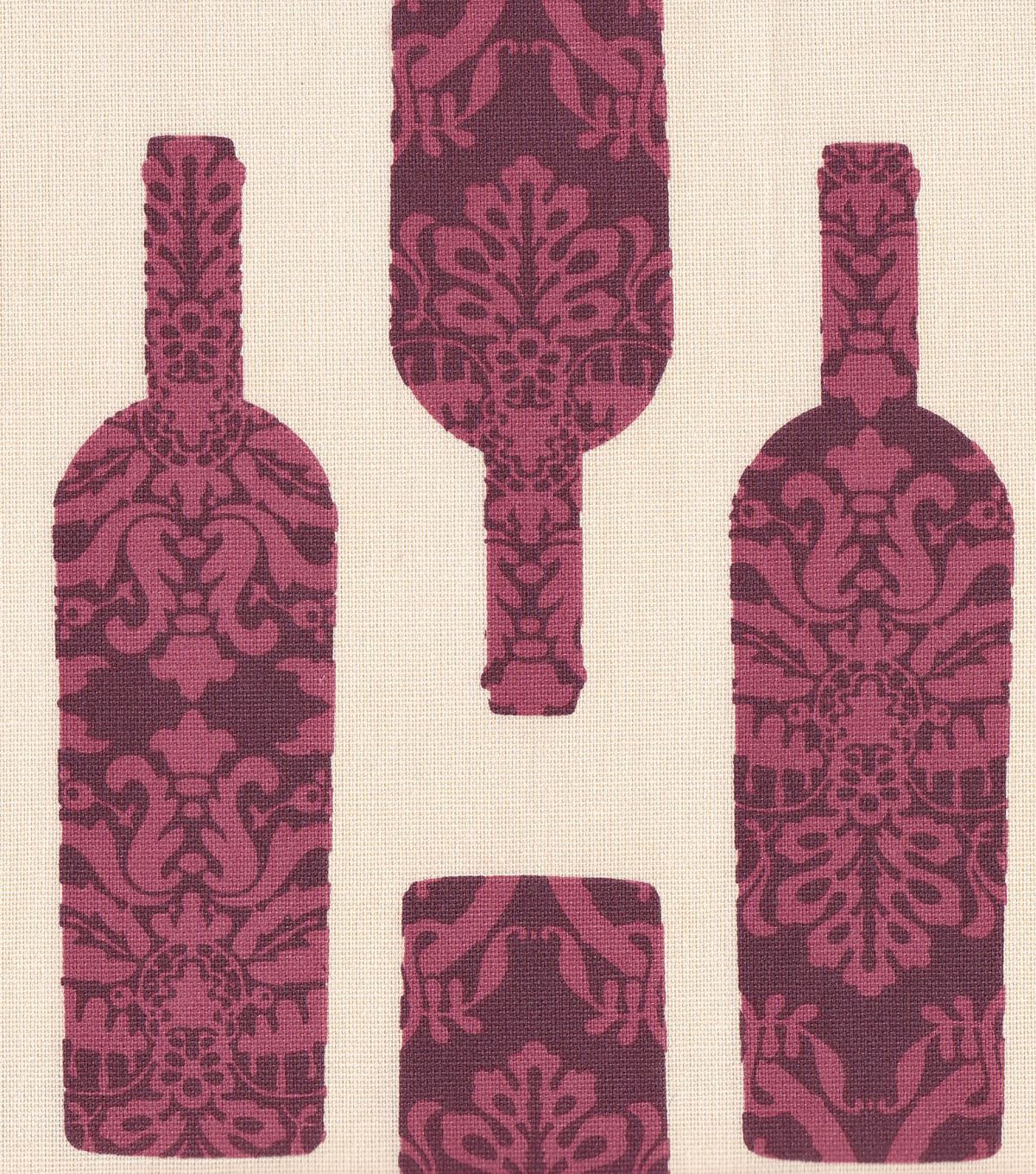 Home Essentials 45\u0022 Print Fabric-Patterned Bottles