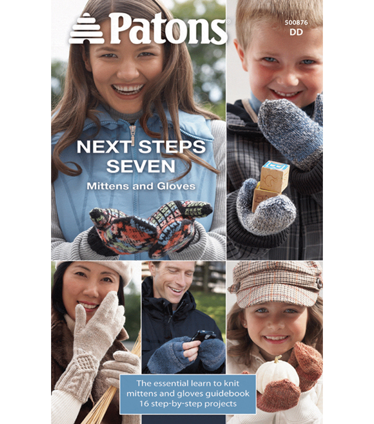 Patons-Next Steps Seven: Mittens & Gloves Knit