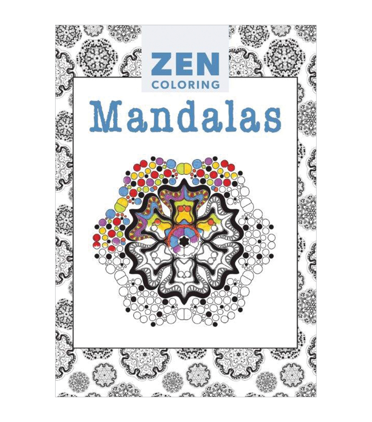 Adult Coloring Book-Guild of Master Craftsman Zen Coloring Mandalas