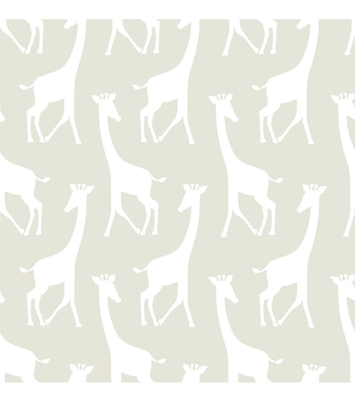 WallPops®NuWallpaper™Taupe Savannah Soiree Peel And Stick Wallpaper