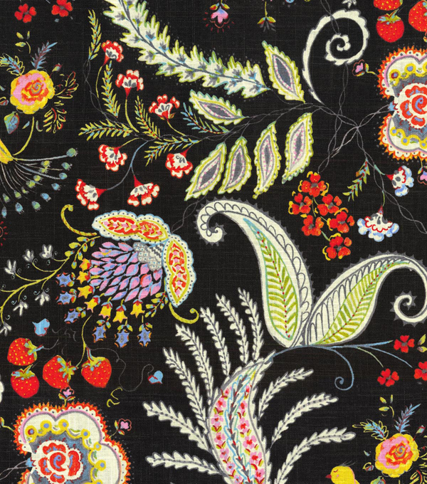 Dena Home Upholstery Fabric 54\u0022-Hidden Charms/Fiesta