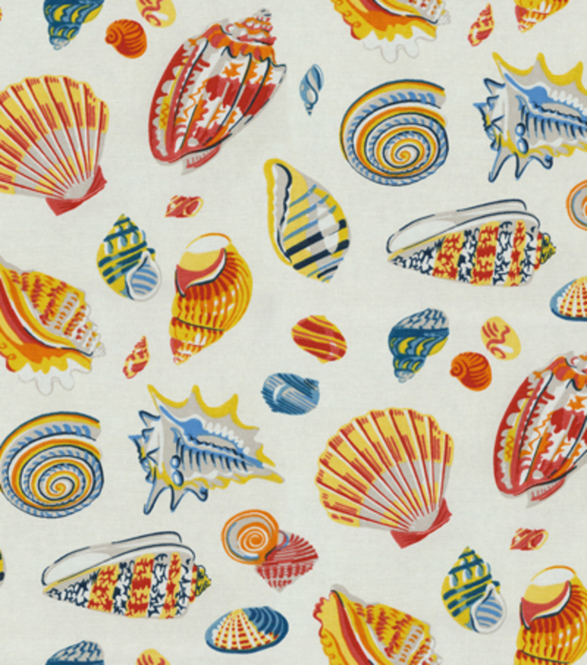 "Home Decor 8""x8"" Fabric Swatch-Waverly Low Tide/Nautical"
