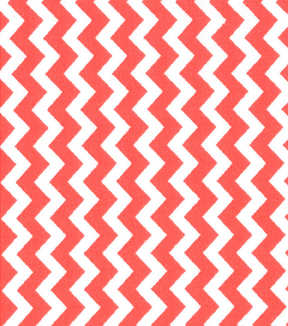 Quilter\u0027s Showcase™ Cotton Quilt Fabric 44\u0022-Chevron Peach and White