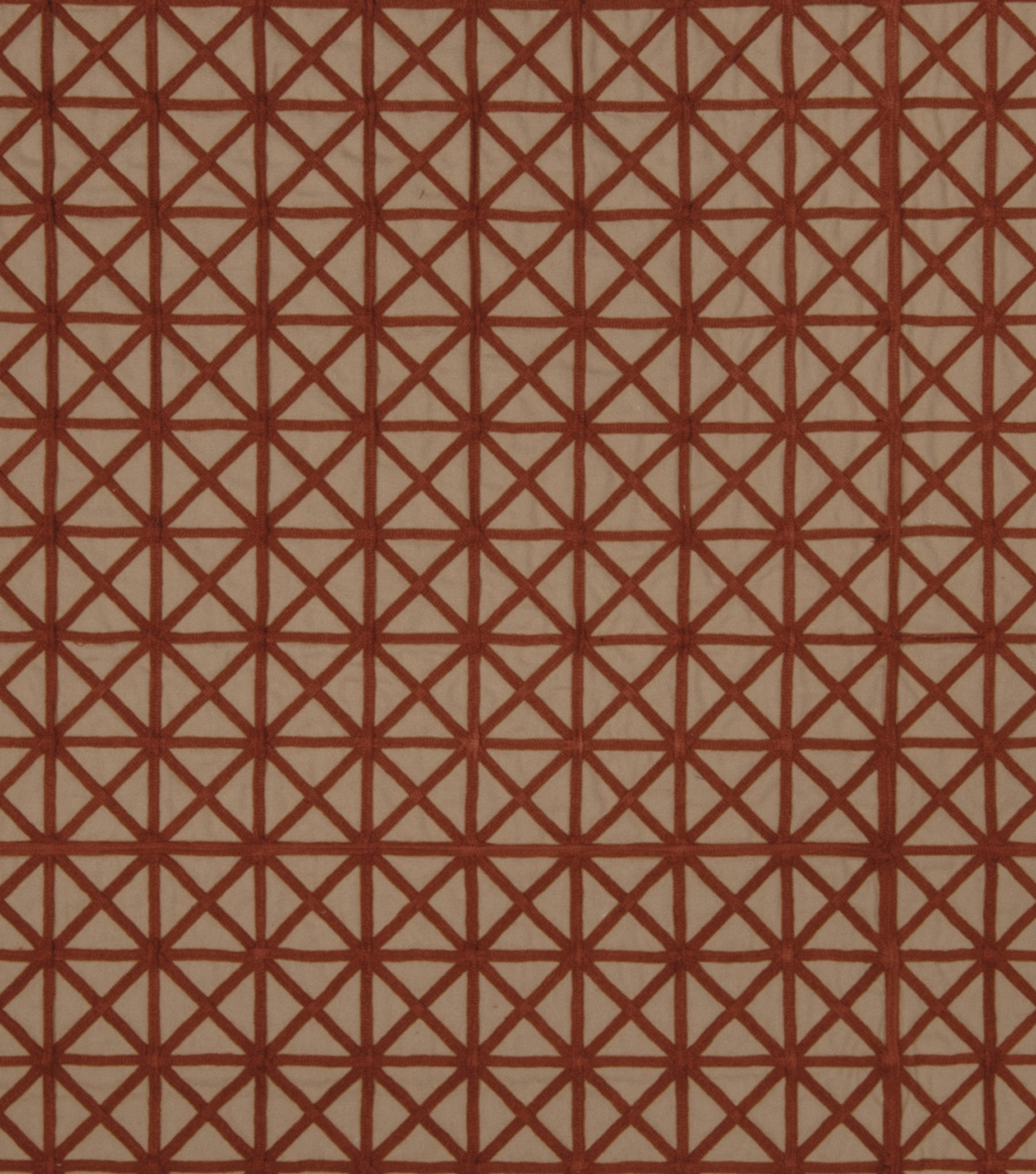 Home Decor 8\u0022x8\u0022 Fabric Swatch-Jaclyn Smith Tasty Brick